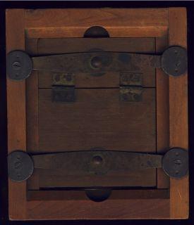Vtg Antique Wood Camera Box Frame Scoville Mfg 1930S