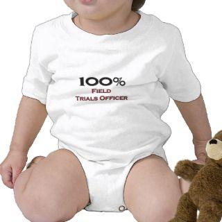 100 Percent Field Trials Officer Shirt