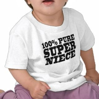 Nieces Birthday Parties : 100% Pure Super Niece Tee Shirt