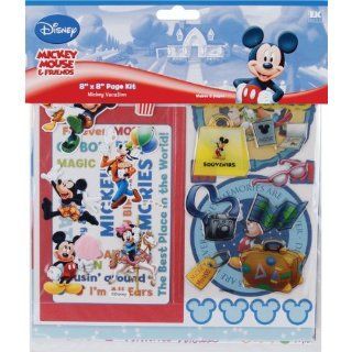 Mickey Mouse Page Kit 8X8 Disney Vacation   629561