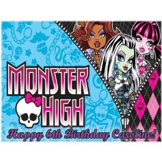 Single Source Party Supplies   Monster High Cake Edible