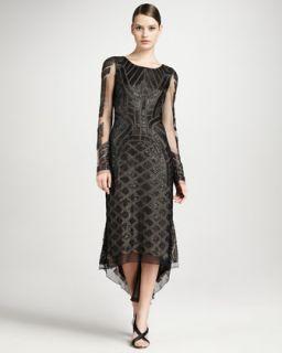 Brunello Cucinelli Wide Rib Sweater, Beaded Tee, Long Silk Skirt