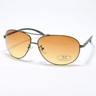 HD Vision Lens Driving Sunglasses Clear View Gun Metal