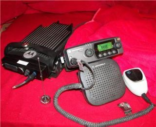 Trunk Mount UHF Two Way Radio High Power 450 MHz PM 1500 Rear 2