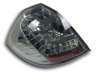 Honda Fit 2nd Jazz LED Rear Tail Light Smoke C Style Lamps Assembly 08