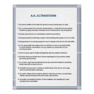 The promises of alcoholics anonymous print