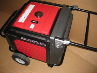 EU6500IS Honda EU6500IS Quiet Gas Generator 6500 Watt