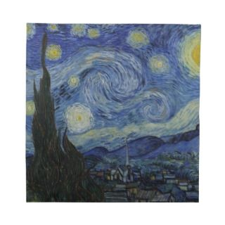 Vincent Van Gogh Starry Night Dinner Napkins