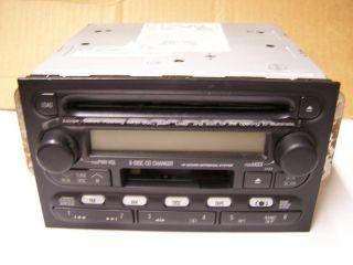 Isuzu Honda Passport 6 CD Tape Radio as Is