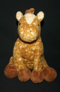 2003 Ty Lasso Horse Pluffies Pony Stuffed Animal Plush Toy
