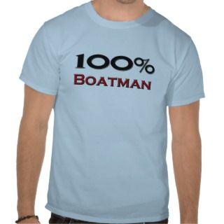 100 Percent Boatman Tees