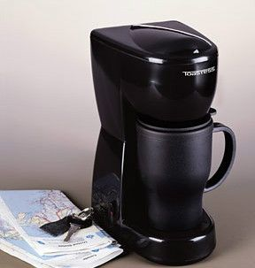 Cup Travel Mug Coffee Hot Water Maker Black TFC 2T 061283301000