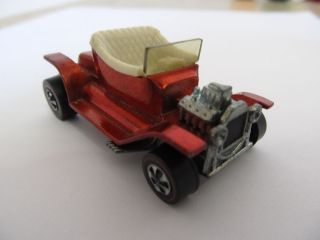 1968 Hot Wheels Redline Red Hot Heap in Excellant Condition