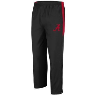 NCAA Alabama Crimson Tide Mako Track Pants   Black (Large