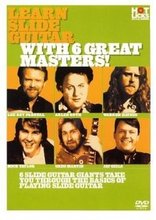 Learn Slide Guitar 6 Great Masters Hot Licks DVD HOT707 Roth Geils