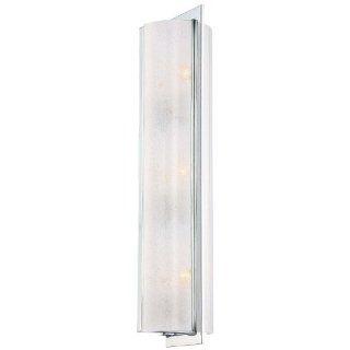 Minka Lavery 4393 77 3 Light Wall Sconces   Chrome Home