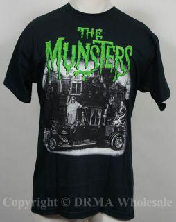 Authentic The Munsters TV Show Hot Rod T Shirt s M L XL XXL Official