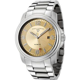 Swiss Legend Mens 10012A 10 Reserve Collection Automatic Gold Dial