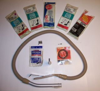 Hoover Vacuum HOSE Convertible Type C Upright Plus 16 Bags, 2 Belts