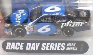 Hot Wheels NASCAR 2004 Race Day Series #6 MARK MARTIN Viagra Pfizer