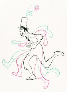 Marceau Limited Edition Lithograph Hand Signed Al Hirschfeld
