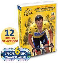 Tour de France 2003 12 HR DVD Lance Armstrong Save $43 718122674954