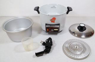HITACHI CHIME O MATIC CHIMEOMATIC AUTOMATIC 5 6C RICE COOKER STEAMER
