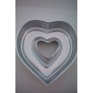 Wilton Large Heart Cake Pan    Gelatin Mold Pan    1989