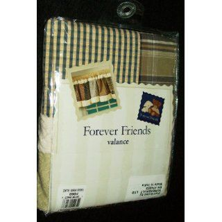 Forever Friends Patchwork Quilt Style Nursery Baby Valance
