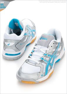 BN Asics Gel Rocket 6 Volleyball Badminton Shoes B257N 9336 G81 Gift