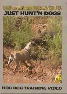 Bay DOG TRAINING ~ Hog ~ Wild Boar ~ Hunting DVD ~ NEW