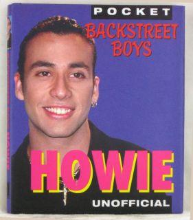 Backstreet Boys Bookd Howie Unofficial Pocket Book New