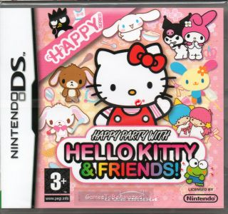 Hello Kitty Friends Happy Party Game DS DSi Lite New 5060189090051