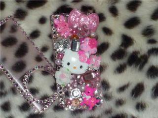 Kawaii Hello Kitty iPod Case Nano 5th Gen Crystals