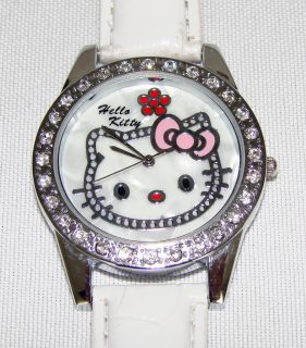 Sanrio Jeweled Hello Kitty Watch Needs A Wrist New Band 2B Perfect