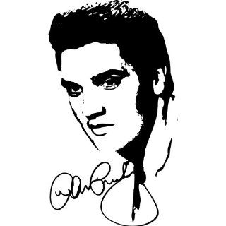 Elvis Presley Silhouette Style #1 Vinyl Wall Art Decal