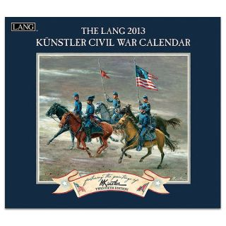 2013 LANG Calendar CIVIL WAR w art by Mort Kunstler Historic Battles