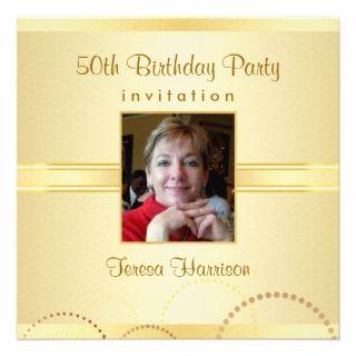 50.o Las invitaciones de la fiesta de cumpleaños   Comunicado