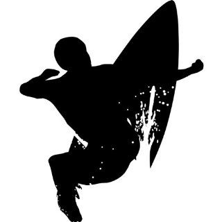 Wall Sticker Decal   24 In. Surf Silhouette Decoration