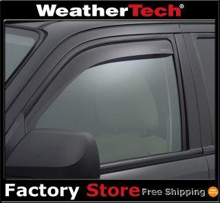 Weathertech® Side Window Deflectors 2008 2012 Ford Escape