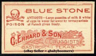 16 All Poison Drug Store RX Medicine Bottle Labels P3