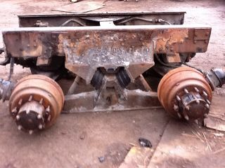 Pound Rear End Differential Cutoff Hendrickson HN Suspension