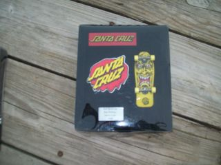 Tech Deck Santa Cruz Skate Board Street Creep 1988 Jim Phillips Rob