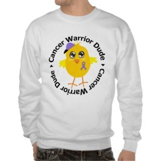 Hodgkins Disease Cancer Warrior Dude Pull Over Sweatshirts