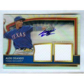 Alexi Ogando Autograph 2011 Topps Finest Baseball