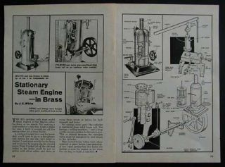Steam Engine Brass Design How to Build Plans from Fire Extinguisher