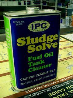 Fuel Oil Tank Cleaner Treats 1000 Gal Burner Nozzle