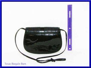 Vintage Jay Herbert New York Purse Black Patent Leather Shoulder Bag
