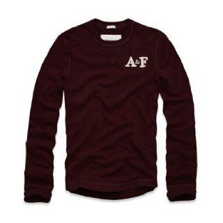 Abercrombie & Fitch A&F Mens Johns Brook BURGUNDY MEDIUM