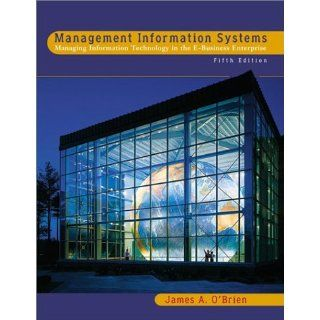 Management Information Systems w/E Tutor and PowerWeb James A. O